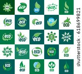 icon vector eco | Shutterstock .eps vector #618699821