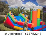 Colorful Kids Jumping Castle...
