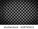 Small photo of abstract acoustic foam background