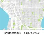 urban vector city map of... | Shutterstock .eps vector #618766919