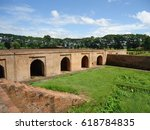 talatal ghar  this monument was ... | Shutterstock . vector #618784835