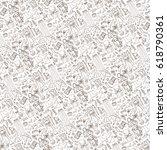 spring fashion  pattern... | Shutterstock .eps vector #618790361