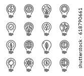 idea intelligence creativity...   Shutterstock .eps vector #618790661