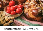 Easter Traditional Bread And...