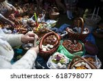 traditional easter holidays in... | Shutterstock . vector #618798077