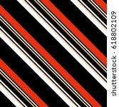 seamless diagonal stripes... | Shutterstock .eps vector #618802109
