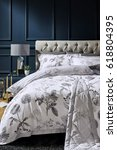 modern design bedroom interior  | Shutterstock . vector #618804395