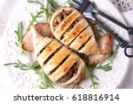 Baked Squid Stuffed With Onion...