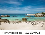 The Penguins At Boulders Beach...