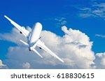 aircraft climb flight against