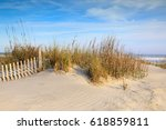 Erosion Fencing And Sea Oats On ...