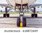 Small photo of Aircraft landing gear