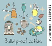 color set. recipe bulletproof...