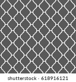 seamless moroccan pattern | Shutterstock .eps vector #618916121