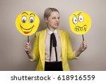 development of emotional... | Shutterstock . vector #618916559