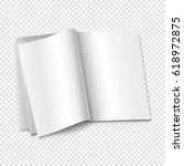 blank book vector | Shutterstock .eps vector #618972875