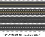 road  street with asphalt.... | Shutterstock .eps vector #618981014