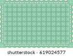 colorful horizontal pattern for ... | Shutterstock . vector #619024577