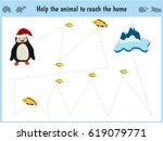 maze game. educational children ... | Shutterstock .eps vector #619079771