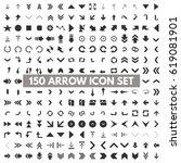 modern arrow pictogram minimal  ...