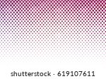 light pink vector banner with... | Shutterstock .eps vector #619107611