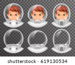 bald scientist avatar retro... | Shutterstock .eps vector #619130534