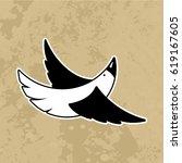 bird sign. for your design | Shutterstock . vector #619167605