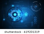 vector abstract background... | Shutterstock .eps vector #619201319