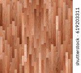 fragment of parquet floor | Shutterstock . vector #619203311