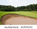 Sand Trap And Putting Green...