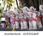 Elephants Figurine. Little...