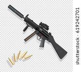 weapon vector illustration   Shutterstock .eps vector #619242701