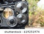part of engine | Shutterstock . vector #619251974