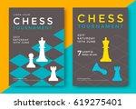 chess tournament poster...   Shutterstock .eps vector #619275401