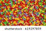 fake flower background color | Shutterstock . vector #619297859