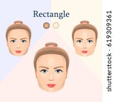 vector image of cosmetic visual ... | Shutterstock .eps vector #619309361