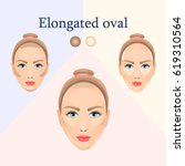 vector image of cosmetic visual ... | Shutterstock .eps vector #619310564