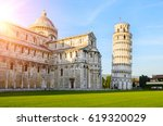 Sunset View Of Leaning Tower O...