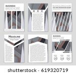 abstract vector layout... | Shutterstock .eps vector #619320719