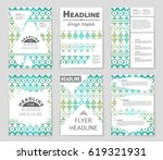 abstract vector layout... | Shutterstock .eps vector #619321931
