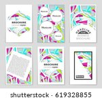 abstract vector layout... | Shutterstock .eps vector #619328855