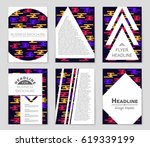 abstract vector layout... | Shutterstock .eps vector #619339199