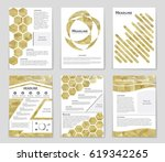 abstract vector layout... | Shutterstock .eps vector #619342265