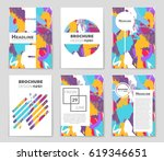 abstract vector layout... | Shutterstock .eps vector #619346651
