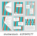 abstract vector layout... | Shutterstock .eps vector #619349177