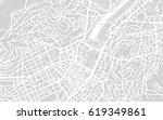 urban city map of stuttgart ... | Shutterstock . vector #619349861
