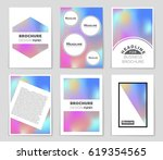 abstract vector layout... | Shutterstock .eps vector #619354565