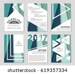 abstract vector layout... | Shutterstock .eps vector #619357334