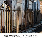 Wrought Iron Fences In Cemeter...