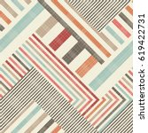 abstract striped  seamless...   Shutterstock .eps vector #619422731